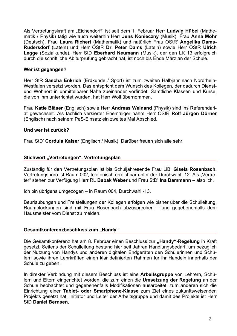 Allgemein – Seite 51 – Eichendorff-Gymnasium Koblenz